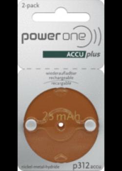 Power One Akku p312 (2 Stück)